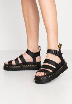 Dr. Martens - BLAIRE - Korkeakorkoiset sandaalit - black