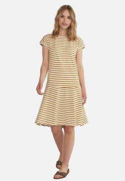 GROBUND - Jerseykleid - yellow