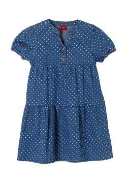 s.Oliver - Jeanskleid - blue dots