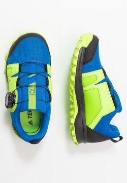 adidas Performance - TERREX AGRAVIC BOA - Hikingschuh - glow blue/footwear white/signal green