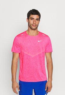 Nike Performance - RISE - T-Shirt print - hyper pink/heather/silver
