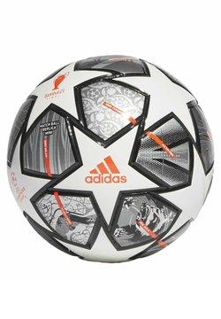 adidas Performance - FINALE 21 20TH ANNIVERSARY UCL MINI FOOTBALL - Fotball - white