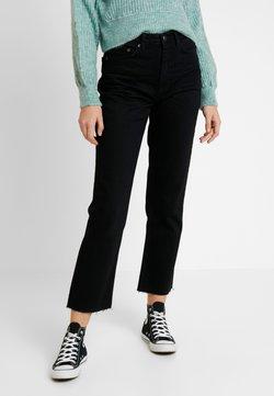 Topshop - Straight leg jeans - black