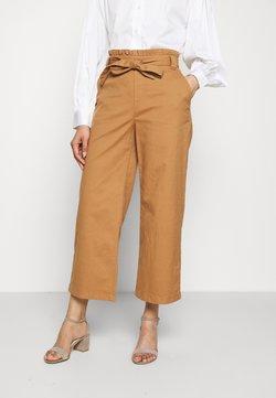 edc by Esprit - CULOTTE - Spodnie materiałowe - camel