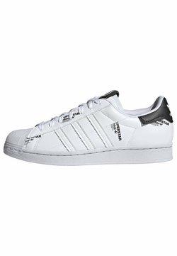 adidas Originals - SUPERSTAR  - Matalavartiset tennarit - white