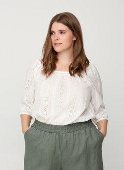 Zizzi - Bluse - off-white