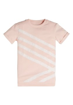 Guess - TERRY GLITTER LOGO - T-shirt print - rose