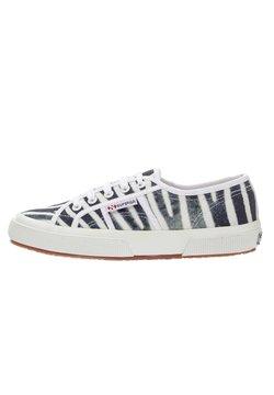 Superga - FANTASY COTU - Sneaker low -  white/black
