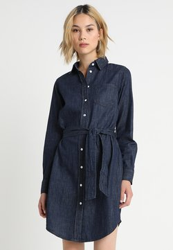 JDY - JDYESRA SHIRT DRESS  - Dongerikjole - dark blue denim