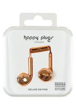 Happy Plugs - PLUS DELUXE - Høretelefoner - rose gold