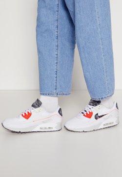 Nike Sportswear - AIR MAX 90 M2Z2 - Matalavartiset tennarit - white/photon dust/bright crimson