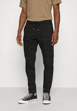 Redefined Rebel - RRFRED PANTS - Cargo trousers - black