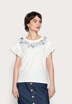 Springfield - MANGA SWISS BORDADO - T-Shirt print - sand