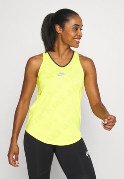 Nike Performance - AIR TANK - Camiseta de deporte - opti yellow/reflective silver