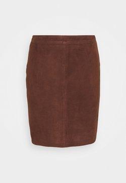 Object - OBJCHLOE  - Pencil skirt - chicory coffee