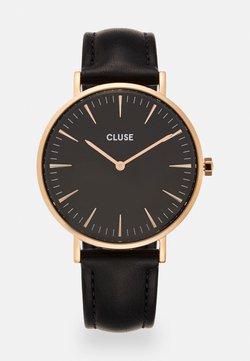 Cluse - BOHO CHIC - Uhr - rose gold-coloured/black