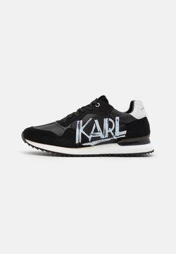 KARL LAGERFELD - VELOCITOR ART DECO - Sneakers - black/white
