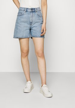 ARKET - SHORTS - Szorty jeansowe - light blue