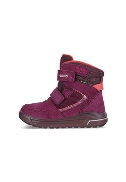 ECCO - URBAN SNOWBOARDER - Snowboot/Winterstiefel - aubergine/teaberry