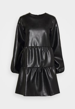 Missguided - SMOCK DRESS - Robe d'été - black