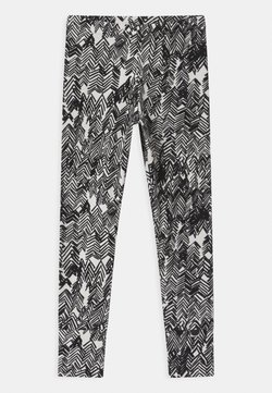 Papu - UNISEX - Legging - gypsum white/black