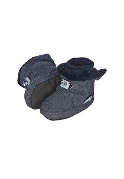 Sterntaler - BABY WINTER SCHUH - Krabbelschuh - blau meliert