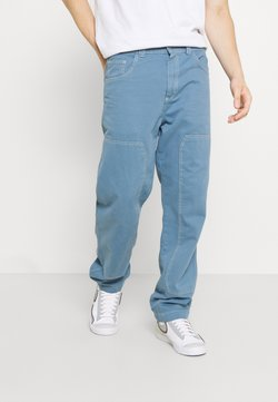 Kickers Classics - PANNEL DRILL TROUSERS - Jeans a sigaretta - indigo