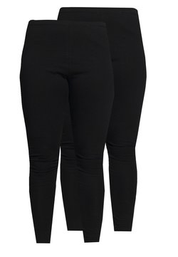 Even&Odd Curvy - 2 PACK - Legging - black