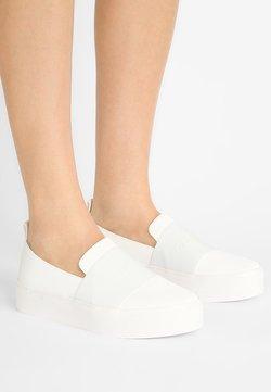 Calvin Klein - JACINTA - Instappers - platinum white