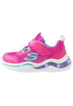 Skechers - POWER PETALS - Sneaker low - neon pink/multicolor