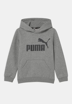 Puma - BIG LOGO HOODIE UNISEX - Bluza - medium gray heather