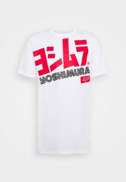 Fox Racing - YOSHIMURA OVERSIZED TEE - T-Shirt print - white
