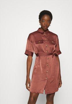 Vero Moda - VMJANE DRESS - Blusenkleid - dark red