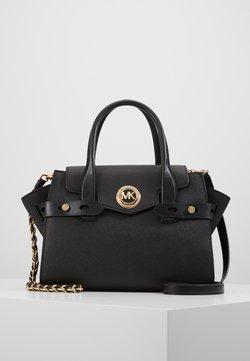 MICHAEL Michael Kors - FLAP SATCHEL - Handtasche - black