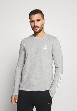 Hummel - HMLSIGGE - Pitkähihainen paita - grey melange