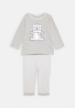 Benetton - TROUSERS SET UNISEX - Pyjama - grey