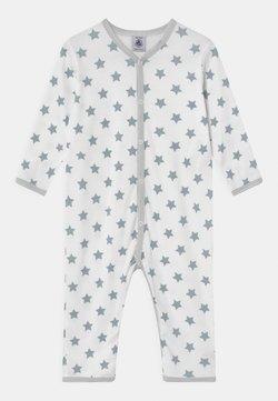 Petit Bateau - DORS BIEN SANS PIEDS UNISEX - Pyjama - ecume/mistigri