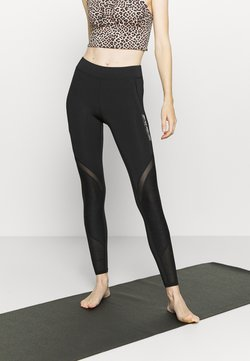 ONLY Play - ONPALANI 7/8 TRAINING  - Tights - black/white