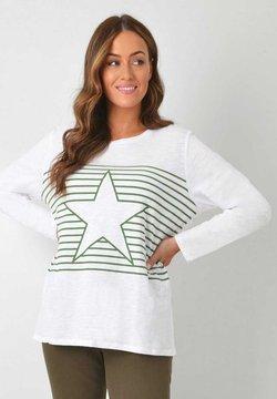 Live Unlimited London - STAR - Langarmshirt - white