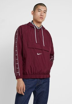 Nike Sportswear - Windbreaker - night maroon/white