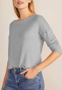 Boden - Sweatshirt - grau meliert/naturweiß