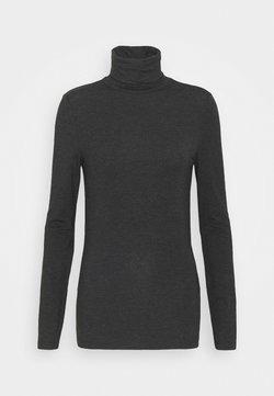 Vero Moda Tall - VMAVA LULU ROLLNECK - Longsleeve - dark grey melange
