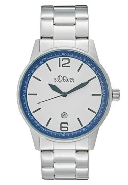 s.Oliver - Montre - silver-coloured
