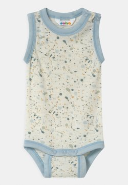 Joha - WITHOUT SLEEVES UNISEX - Body / Bodystockings - off-white/light blue