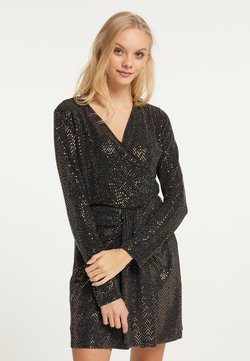 myMo at night - Bluse - gold schwarz