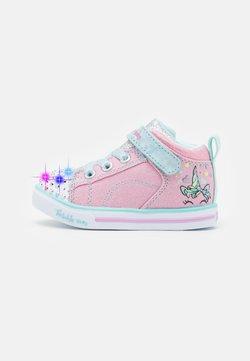 Skechers - SPARKLE LITE - Sneaker high - sparkle pink/light blue/silver