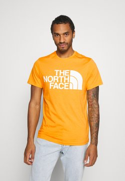 The North Face - STANDARD TEE - T-shirt print - summit gold