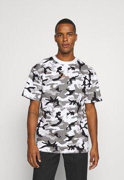 Karl Kani - SMALL SIGNATURE CAMO TEE - Camiseta estampada - white