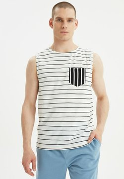 Trendyol - T-shirt con stampa - white