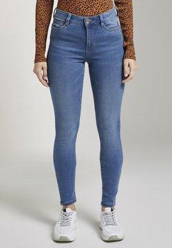 TOM TAILOR DENIM - Jeans Skinny Fit - used mid stone blue